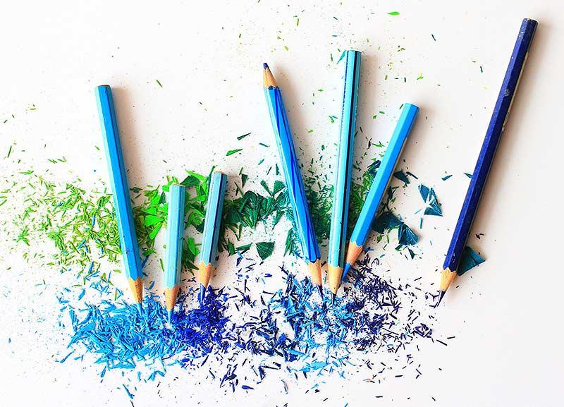 Herstellung Buntstifte