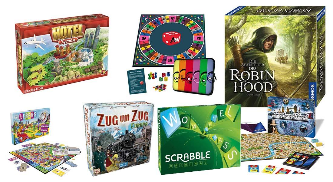 Die beliebtesten Brettspiele für Kinder