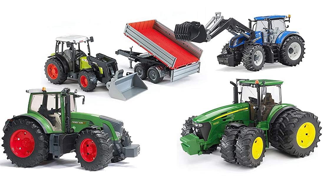 Die beliebtesten Bruder Traktoren + Ratgeber