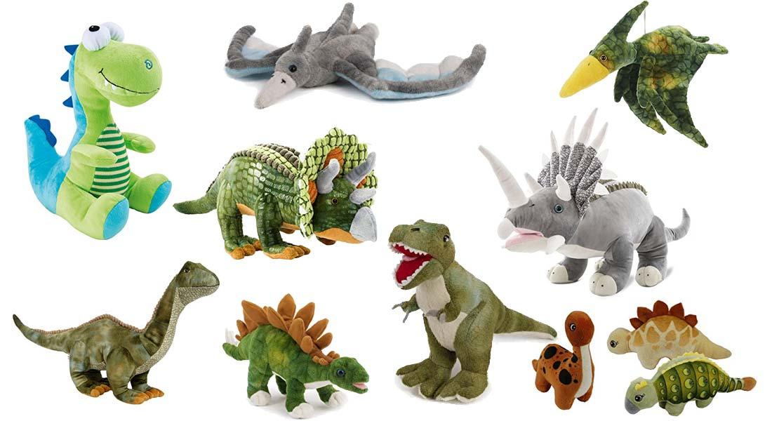 Die beliebtesten Dino Kuscheltiere