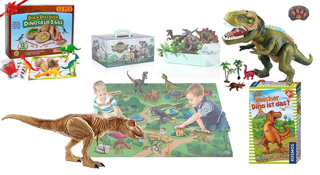 Die beliebtesten Dinosaurier Spielzeuge + Ratgeber