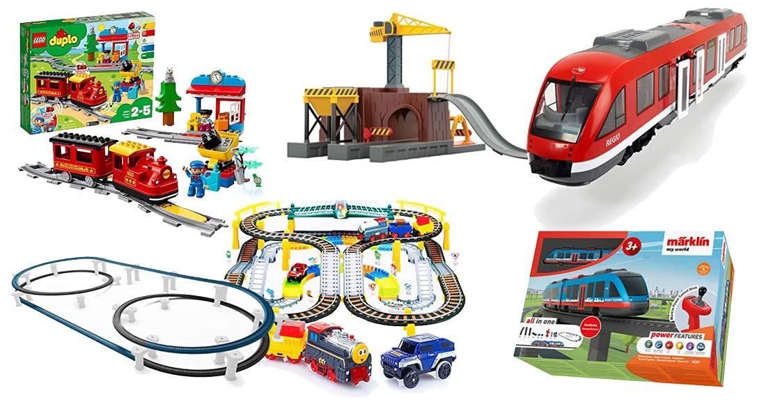 Die beliebtesten Eisenbahnen für Kinder + Ratgeber