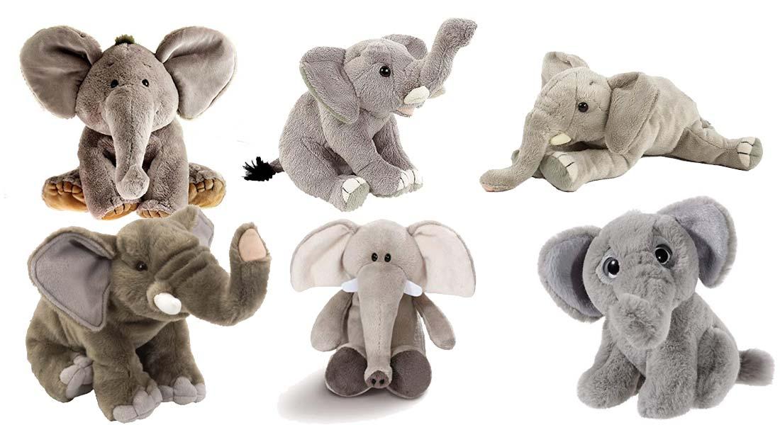 Die beliebtesten Kuscheltier Elefanten