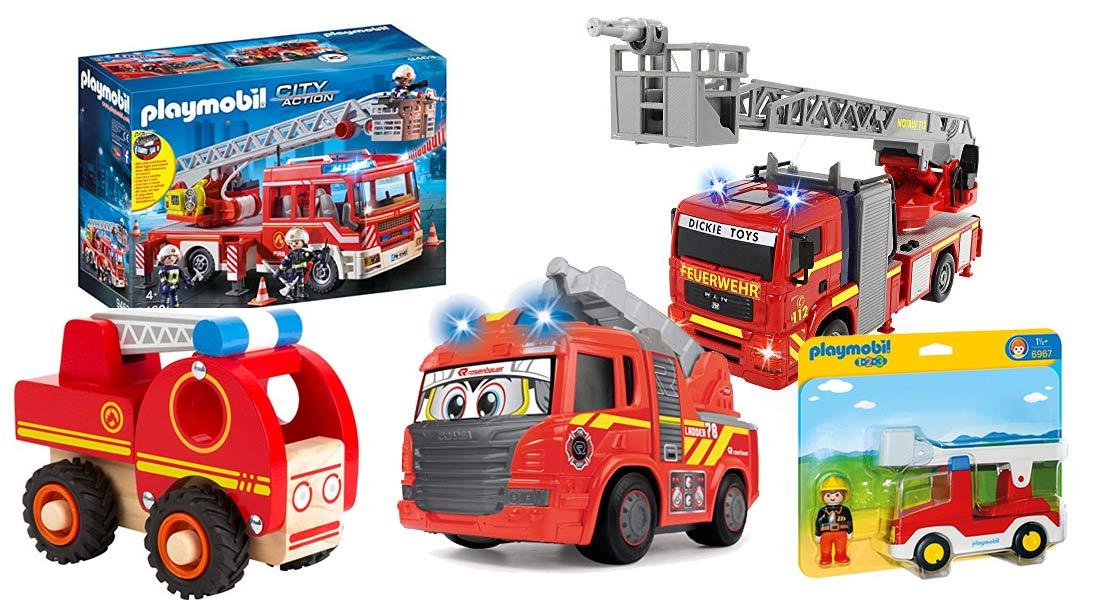 Die 15 beliebtesten Feuerwehrautos für Kinder + Ratgeber