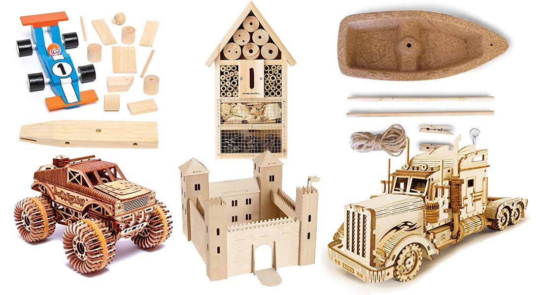 Die beliebtesten Holzbausätze für Kinder