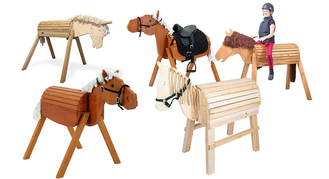 Die beliebtesten Holzpferde + Ratgeber