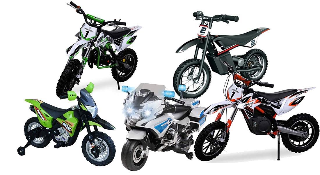 Die beliebtesten Kinder-Motorräder + Ratgeber