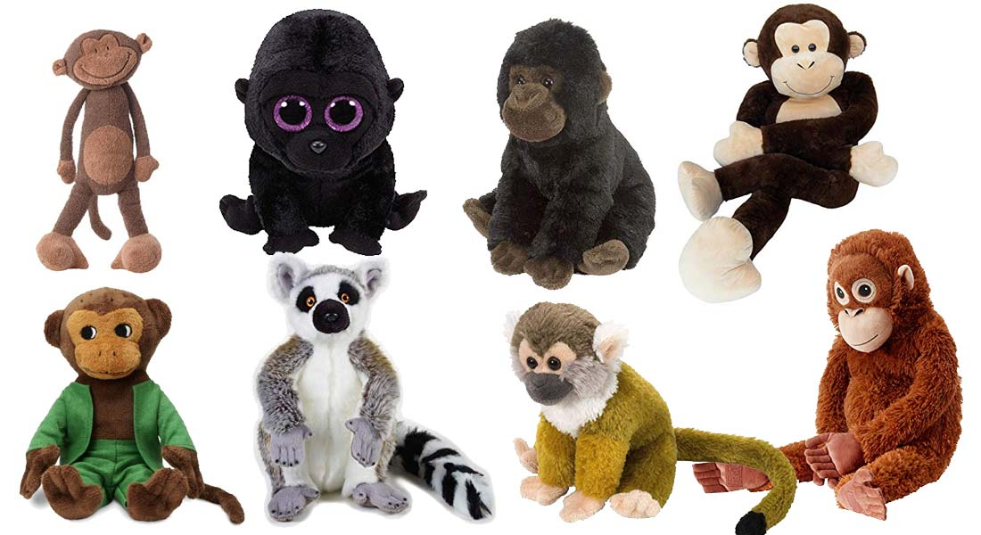 Die beliebtesten Kuscheltier Affen