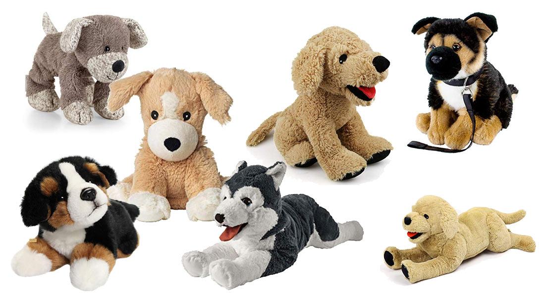 Die beliebtesten Kuscheltier Hunde
