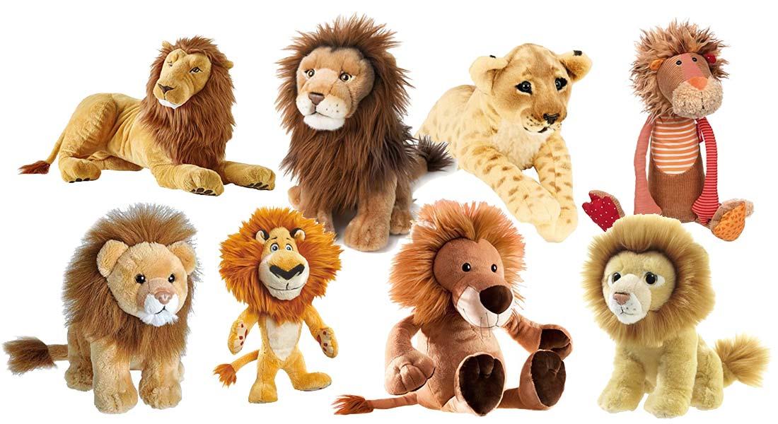 Die beliebtesten Kuscheltier Löwen