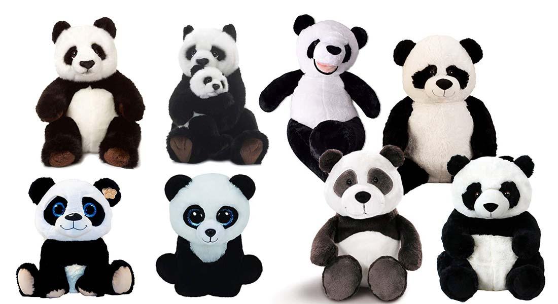 Die beliebtesten Panda Kuscheltiere