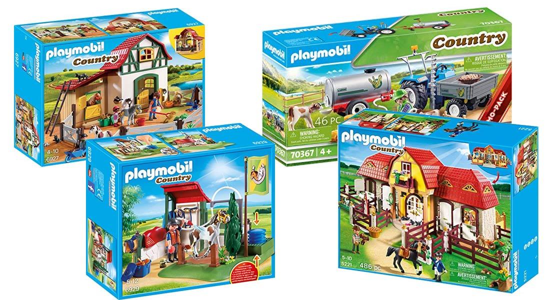 Die beliebtesten Playmobil Bauernhöfe + Ratgeber