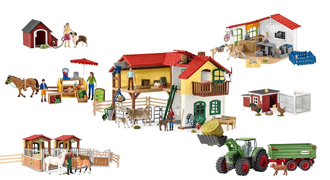 Beliebte Schleich Bauernhöfe und Zubehör + Ratgeber