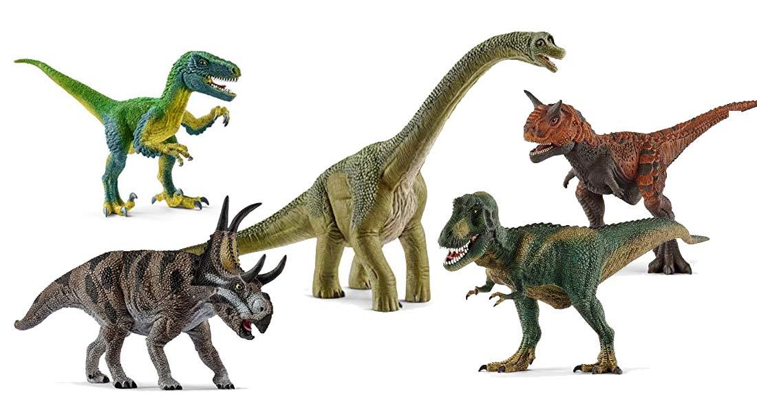 Beliebte Schleich Dinosaurier + Ratgeber
