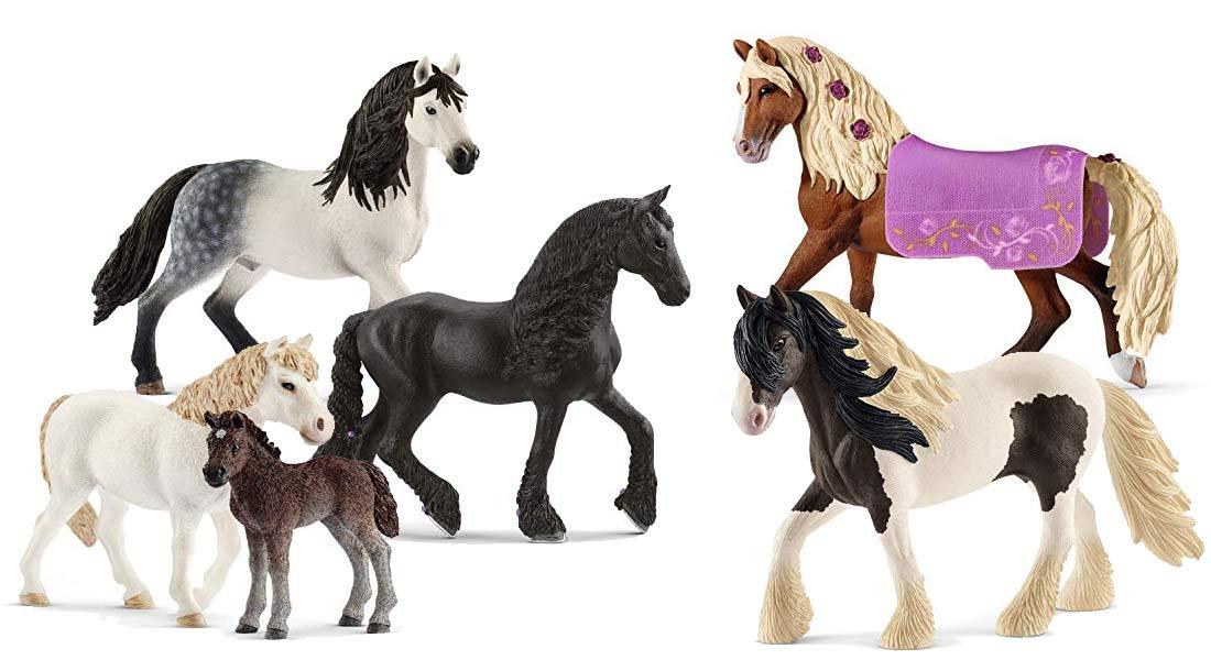 Die beliebtesten Schleich Pferde + Ratgeber