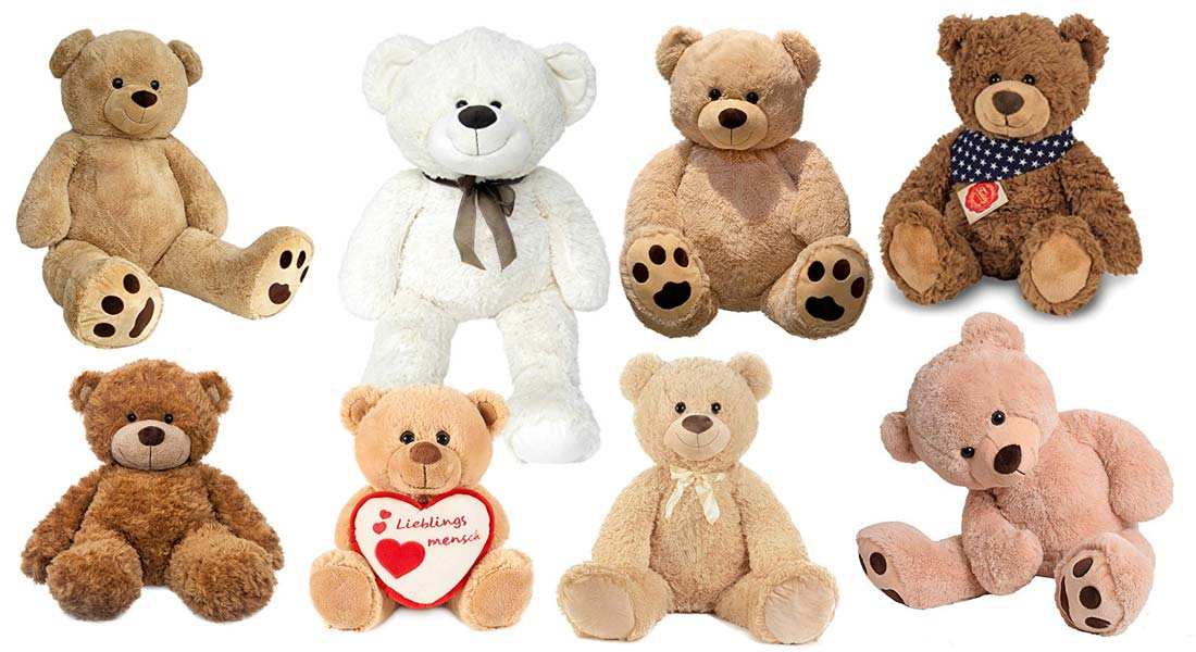 Die beliebtesten Teddybären