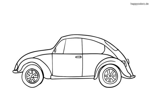 Käfer Ausmalbild