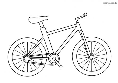 minimalistisches Fahrrad