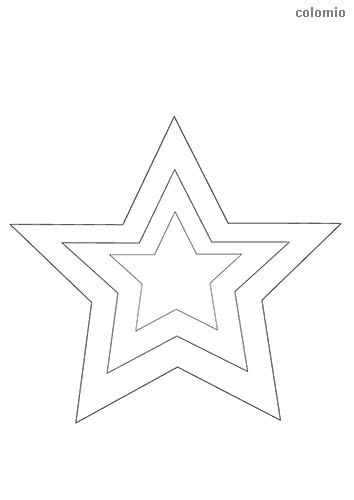 Sterne Malvorlage