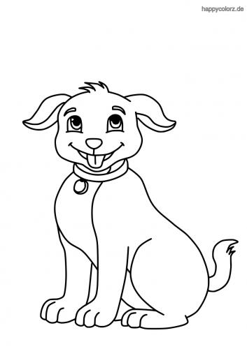 Hund Einfach Zeichnen Schritt Fur Schritt Tutorial Dekoking