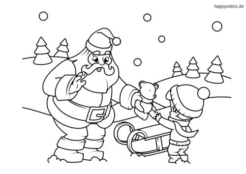 Weihnachten Malvorlage Kostenlos Weihnachten Ausmalbilder